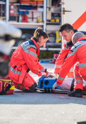Job injuries emergency workers, firefighter injury, workers' comp claims